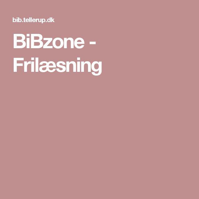 BiBzone - Frilæsning