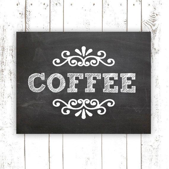 Kitchen Art Print  Coffee Art Print on by MooseberryPrintShop, $18.00