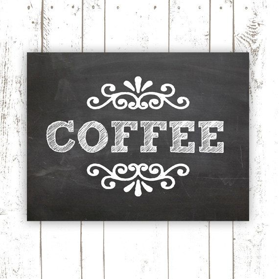 Kitchen Art Print  Coffee Art Print on by MooseberryPrintShop, $18.00