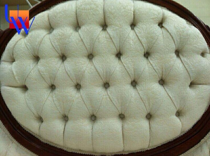 Tufted: Upholstery By Upholstery Works In Las Vegas.  Http://UpholsteryWorksLV.
