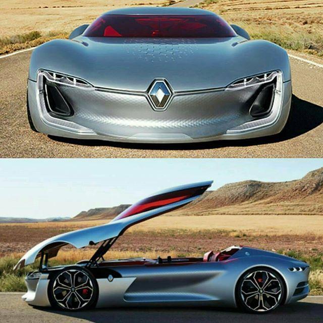 The new Renault Trezor concept ‼️