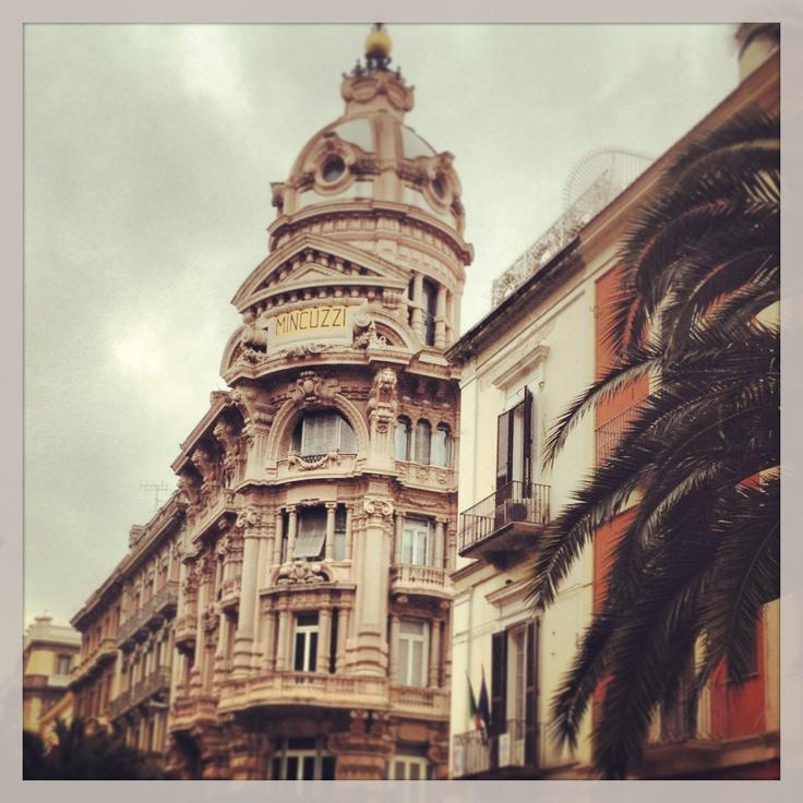 Bari, Palazzo Mincuzzi in Via Sparano, oggi sede dello  store United Colors of Benetton