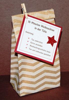 Stempel-Exempel: 15 Minuten Weihnachten in der Tüte