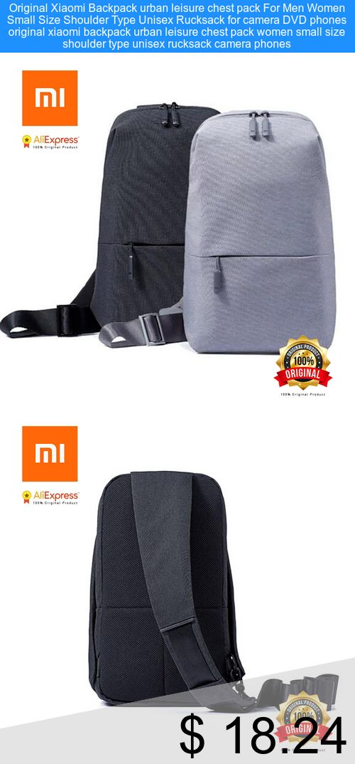 Only  18.24  Original Xiaomi Backpack urban leisure chest pack For Men  Women Small Size c8aba2e054f52