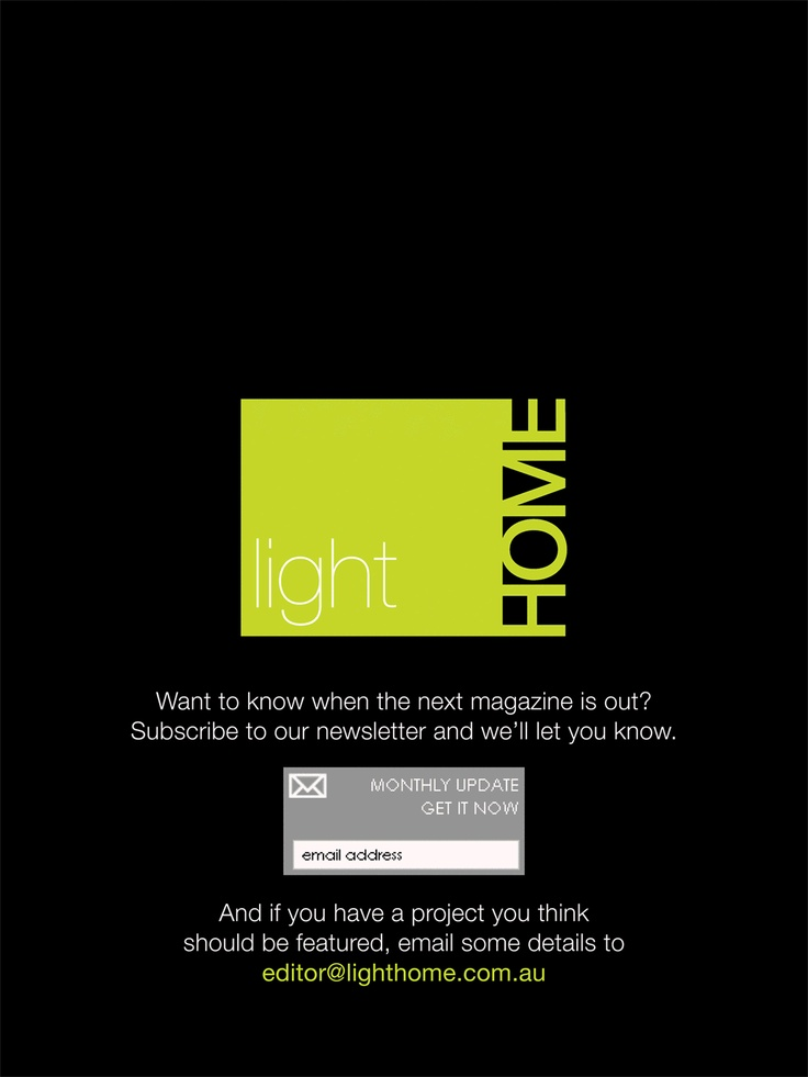 Light Home Magazine : Light Home Winter Issue 2011, Page 102
