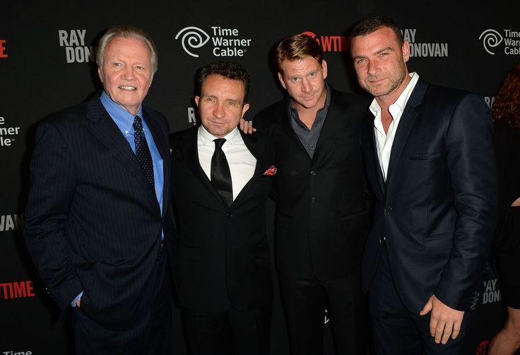 Ray Donovan, Showtime, 2012: Jon Voight as Mickey Donovan; Dash Mihok as  Bunchy Donovan; Eddie Marsan as Terry Donovan; Liev Schreibe as Ray Donovan