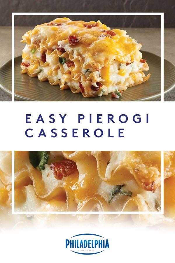 Easy Pierogi Casserole Recipe Food Cooking Recipes Pierogi Casserole