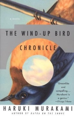 I first read this on a plane. maybe it's time to re-read on the plane to Japan? the wind-up bird chronicle, haruki murakami