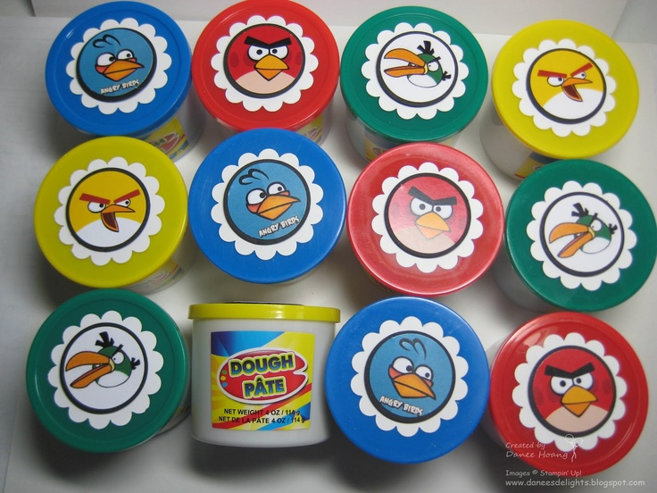 Angry Birds Playing Card Deck And Vector Characters: 17 Best Images About Angry Bird Birthday On Pinterest