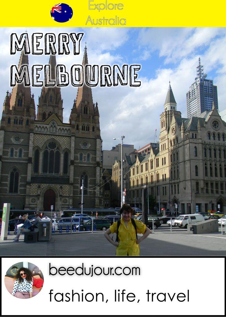 Merry Melbourne City · Bee Du Jour