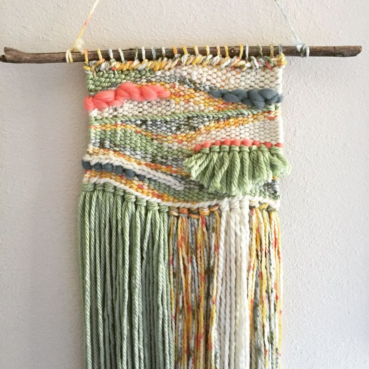Spring weaving!