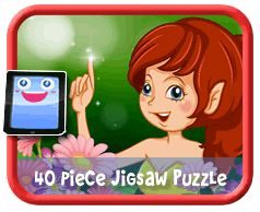 Pixie 40 Piece Online jigsaw puzzle for kids