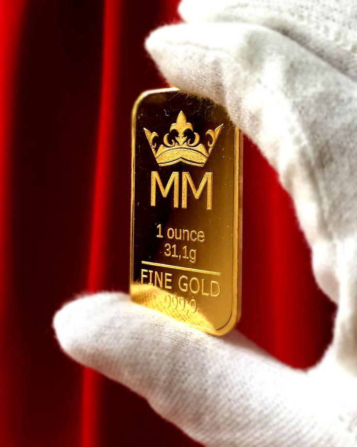 Uncja czystego złota.. Nasza najpopularniejsza sztabka!