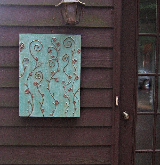 Interior Metal Art Salvaged For Outdoor Art