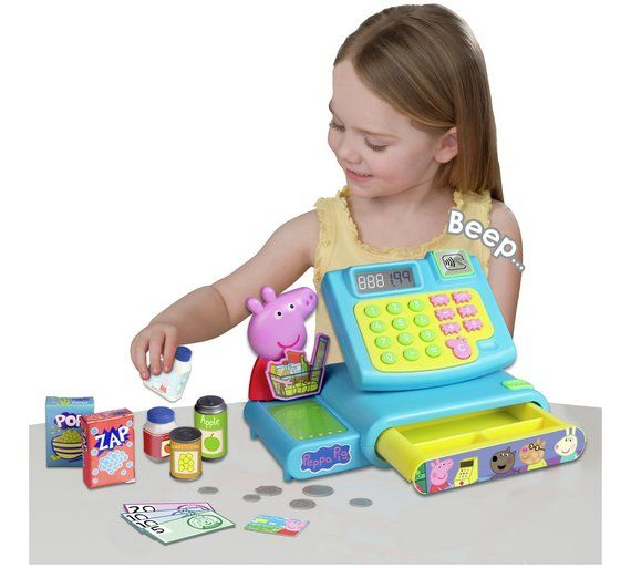 Buy Peppa Pig Cash Register Role play toys Peppa pig