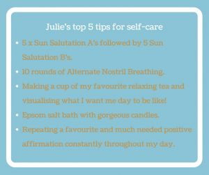 Interview and self-care tips with the inspiring Julie Montagu - Calmer You