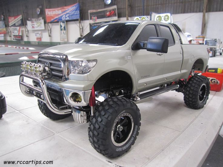 Scale RC Cars and Trucks - Tamiya King Hauler, Toyota Tundra Pickup Truck