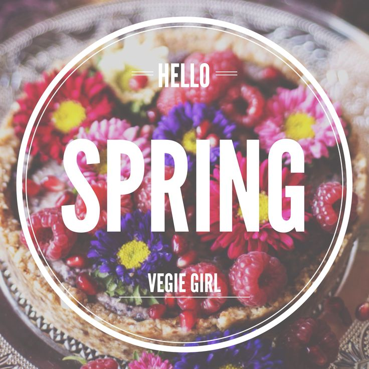 It's Spring time! What are your spring goals?
