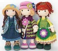 amigurumi doll crochet patterns free download