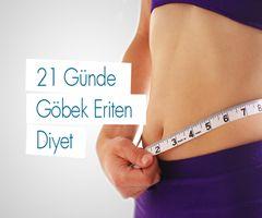 Kesin sonuç alabileceğiniz 21 gün boyunca uygulanacak olan göbek eriten diyet listesi tamamen sağlıklı bir şekilde kilolarınızdan kurtulmanızı sağl