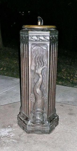 art deco water fountain