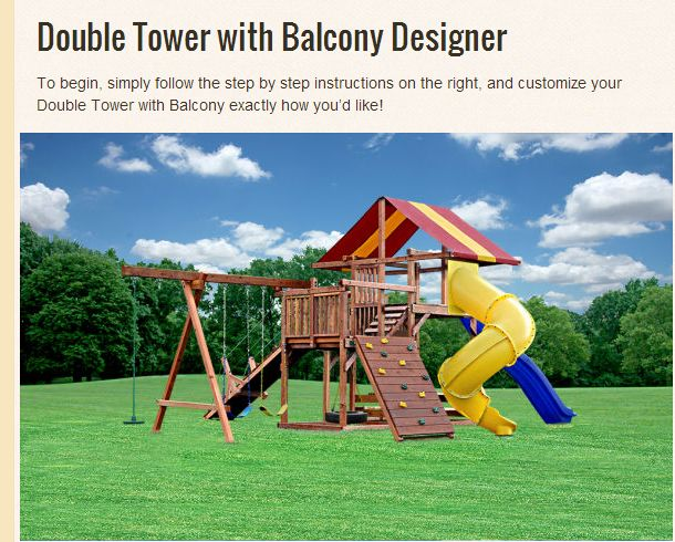 17 best images about design your own swing sets online on for Design your own playground online