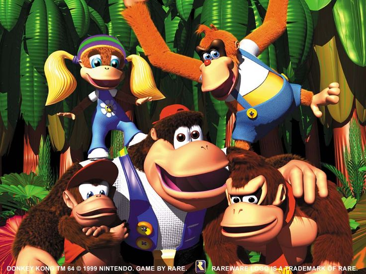 Donkey Kong 64 for the Nintendo 64