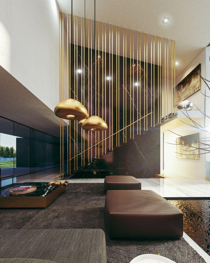#interior #stairs #creato #funcy #shiny #decoration