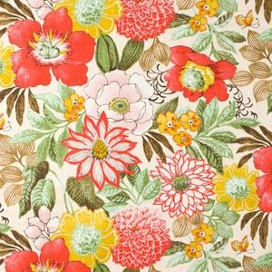 Aesthetic Oiseau: Fabric Crush: Joonas Summer Fabric