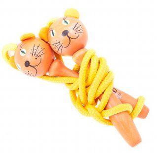 Skakanka kotek :) super zabawki drewniane w Polsce!!! #zabawkidrewniane