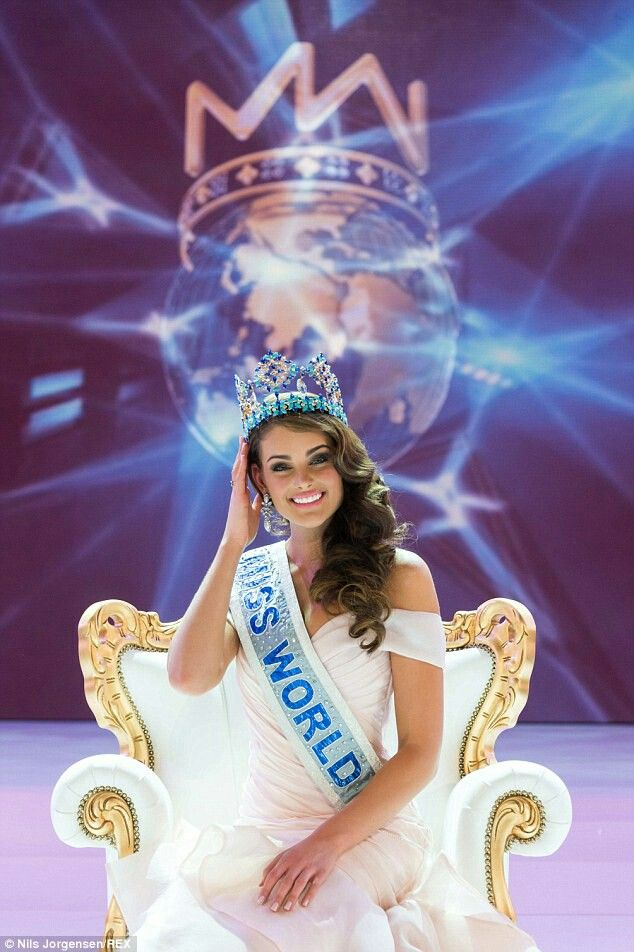 Miss World 2015 - South Africa (Rolene Strauss).  South African Beauty in female form.