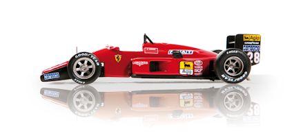#ferrari #F1 87 di Gerhard Berger
