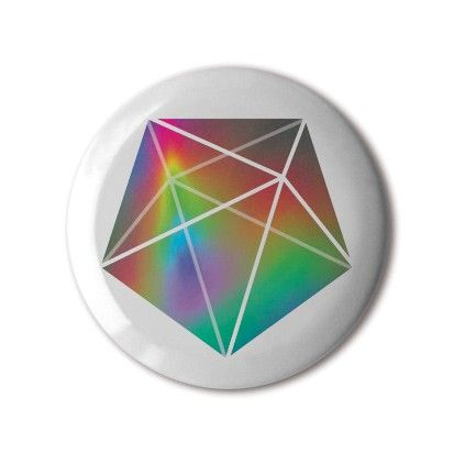 "❤️ #BBOTD Stereohype #button #badge of the day by FL@33 #pentagonal #geometry #pentagon #bipyramid #rainbow #spectrum #colours #colourful #graphicdesign #illustration #graphicart #fashion #accessories #menstyle #menswear #mensfashion #womenstyle #womensfashion #style #lapel #pin #giftidea #graphicdesign • Also available as ‪👉8x10"" Fine Art Giclée Print"