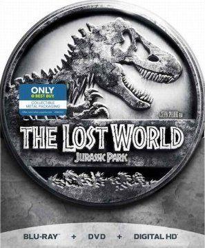 The Lost World: Jurassic Park - Limited Edition Metal Tin Packaging (Blu-ray  DVD  Digital Copy) @ niftywarehouse.com #NiftyWarehouse #JurassicPark #Jurassic #Dinosaurs #Film #Dinosaur #Movies