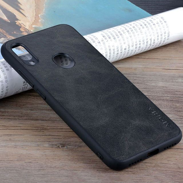 Case For Xiaomi Redmi Note 7 Pro Luxury Vintage Leather Skin Phone Cover For Xiaomi Redmi Note 7 Case Funda Business Coque C Leather Skin Luxury Vintage Note 7