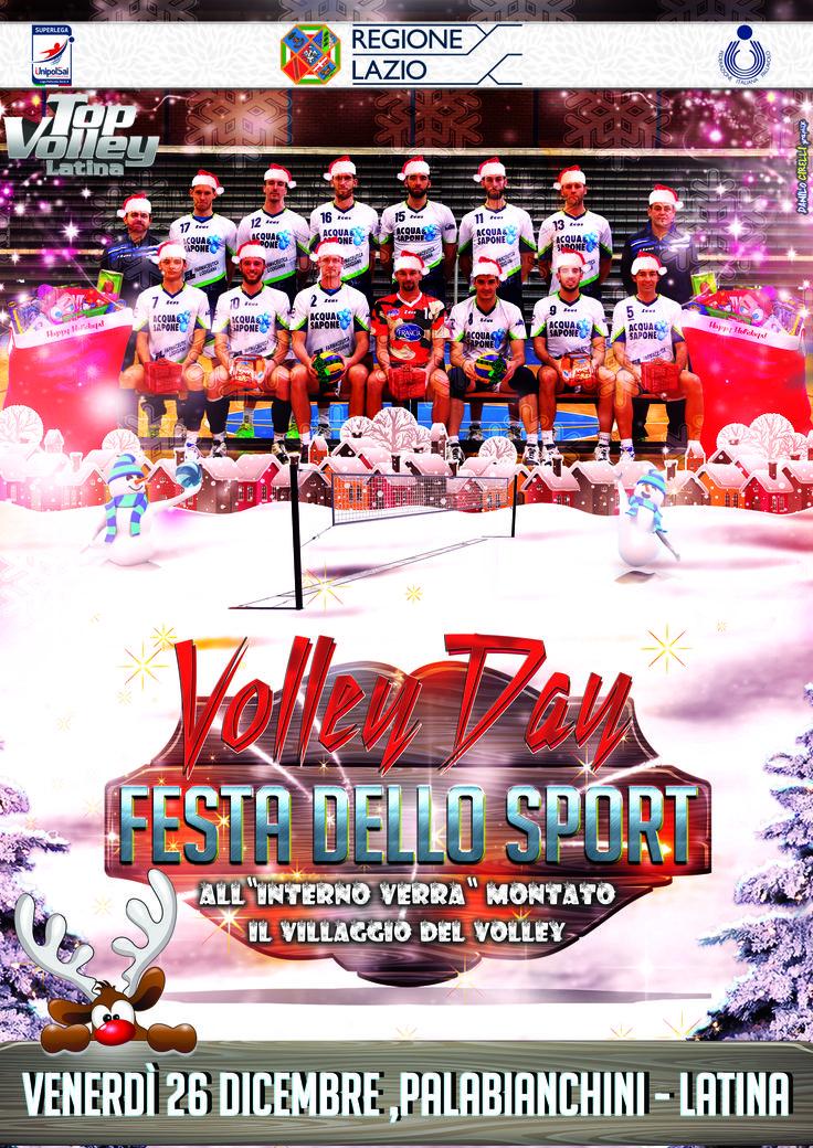 Volley Day il 26 dicembre al PalaBianchini