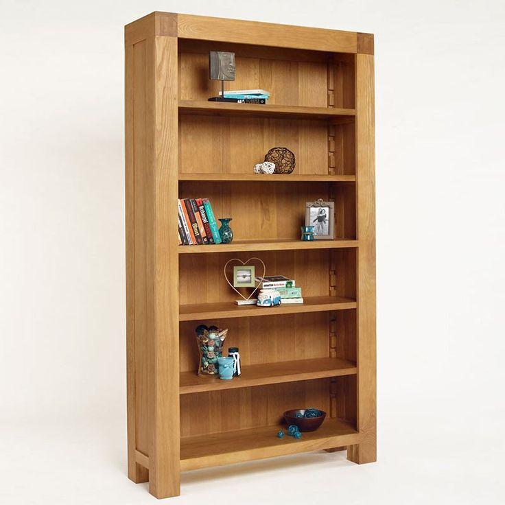 Santana Blonde Solid Oak Bookcase (Sizes Full, Slim) -  - Bookcase - Ametis - Space & Shape - 4