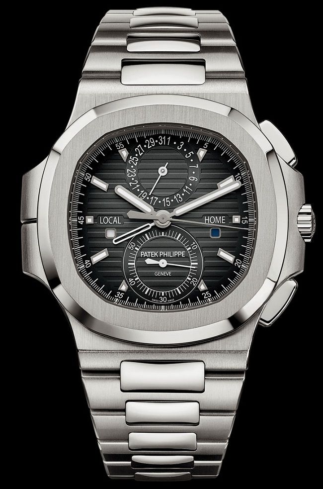 Patek Philippe Nautilus Travel Time Chronograph - Новый хронограф с индикацией второго часового пояса | LuxuriousWatches.ru