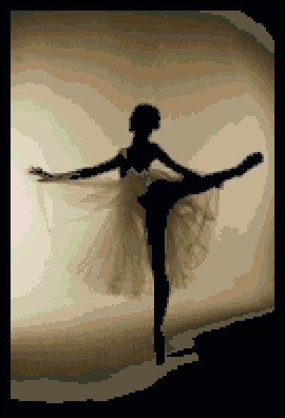 Into The Light I Dance - Counted Needle Point and Cross Stitch Chart Patterns via Etsy