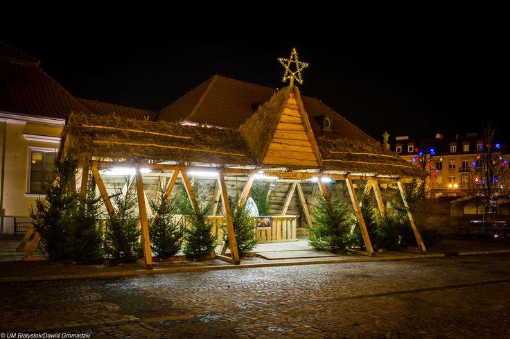 Białostocka Szopka :) #RynekMiejski #centrum #Lipowa #Święta #Bialystok fot. Dawid Gromadzki