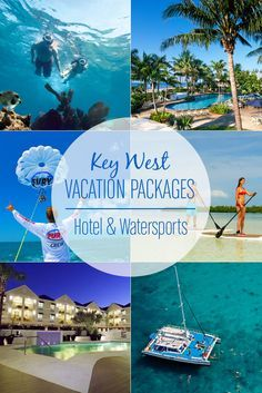 Dreaming of #KeyWest? Stay & Play with our vacation packages, including accommodations at a Key West hotel or resort along with a variety of Fury Watersports Adventures. Best price guaranteed.
