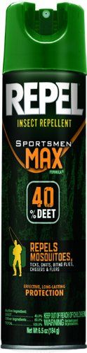 Repel Hg-63801 Sportsmen Max Formula Insect Aerosol, 6.5-Ounce, 6-Pack, 2015 Amazon Top Rated Sprayers #Lawn&Patio