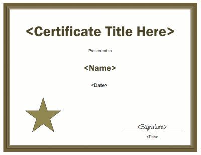29 best KIDS CERTIFICATE TEMPLATES images on Pinterest - sample membership certificate