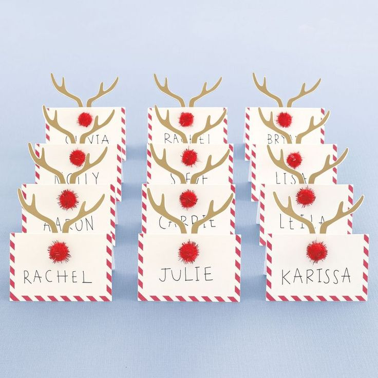 jcpenney - MarthaCelebrations™ Place Cards – Christmas - jcpenney