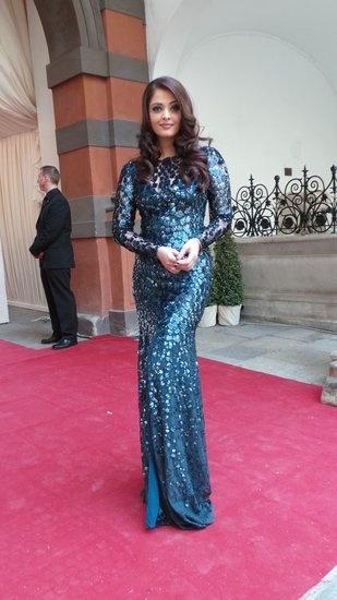 Aishwarya Rai // Roberto Cavalli // 2013 Life Ball