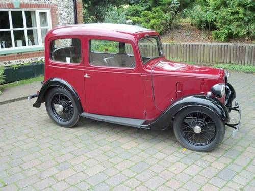 Austin 7 Ruby Mk2 (1937) Maintenance/restoration of old/vintage vehicles: the material for new cogs/casters/gears/pads could be cast polyamide which I (Cast polyamide) can produce. My contact: tatjana.alic@windowslive.com