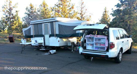 How We Organize Our Pop Up Camper   Popup camper, Pop up ...