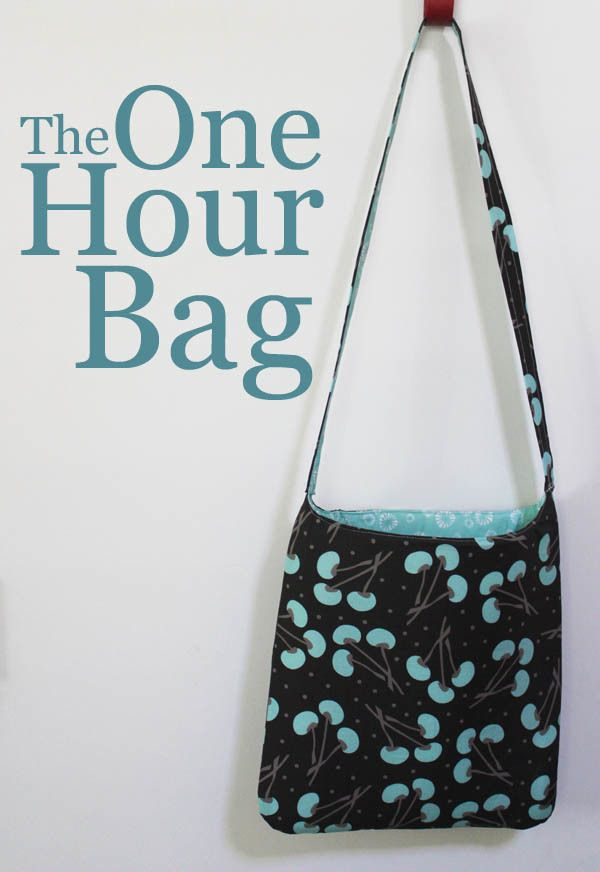 How to Make a Bag in One Hour   AllFreeSewing.com