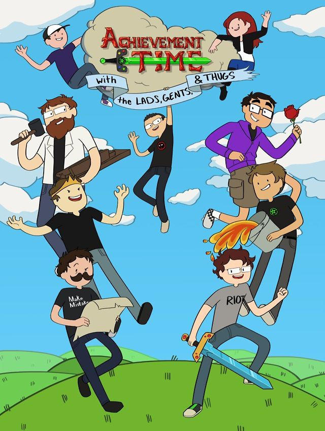Pictures of Achievement Hunter Team Lads - #rock-cafe