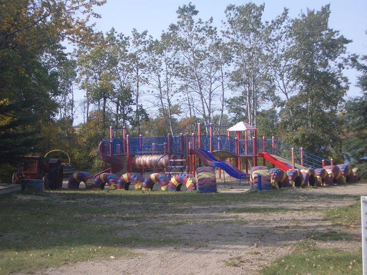 Playground at Lucien Lake Regional Park #lucienlake #playtime #playground #justbekids #sasklakefront #saskparks